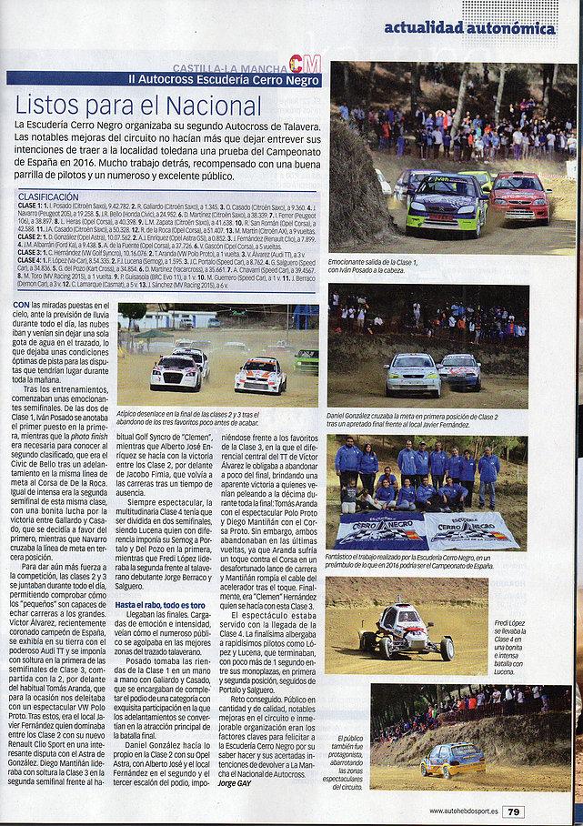 II Autocross Octubre 2015